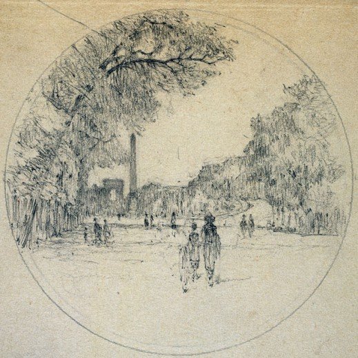 Stock Photo: 1075-354 Walking In The Park 