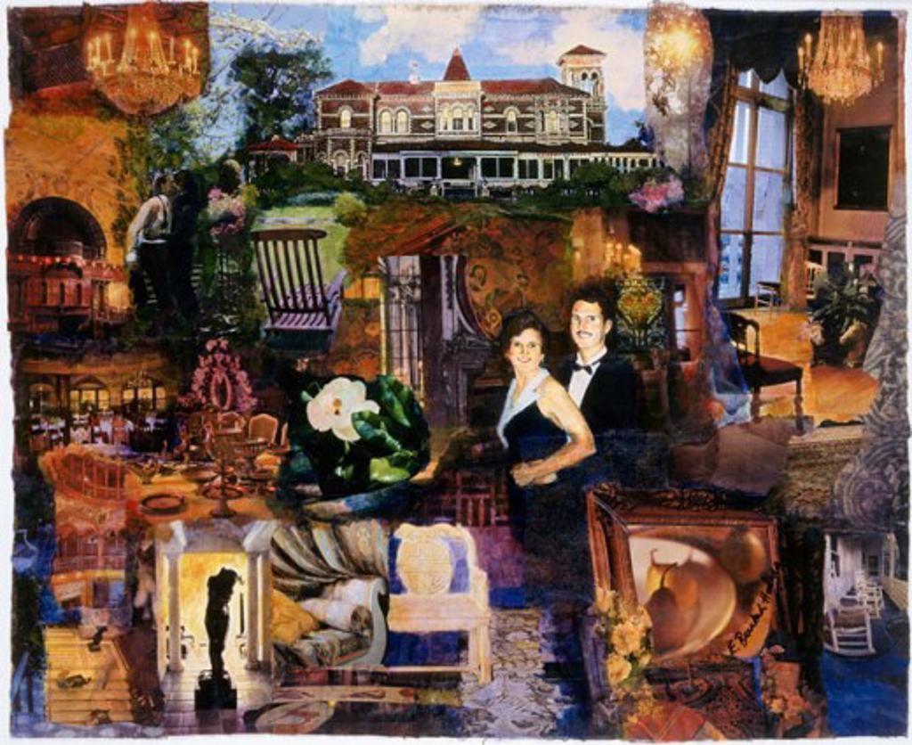Stock Photo: 1085-21027 Dream House Elizabeth Barakah Hodges (21st C. American)