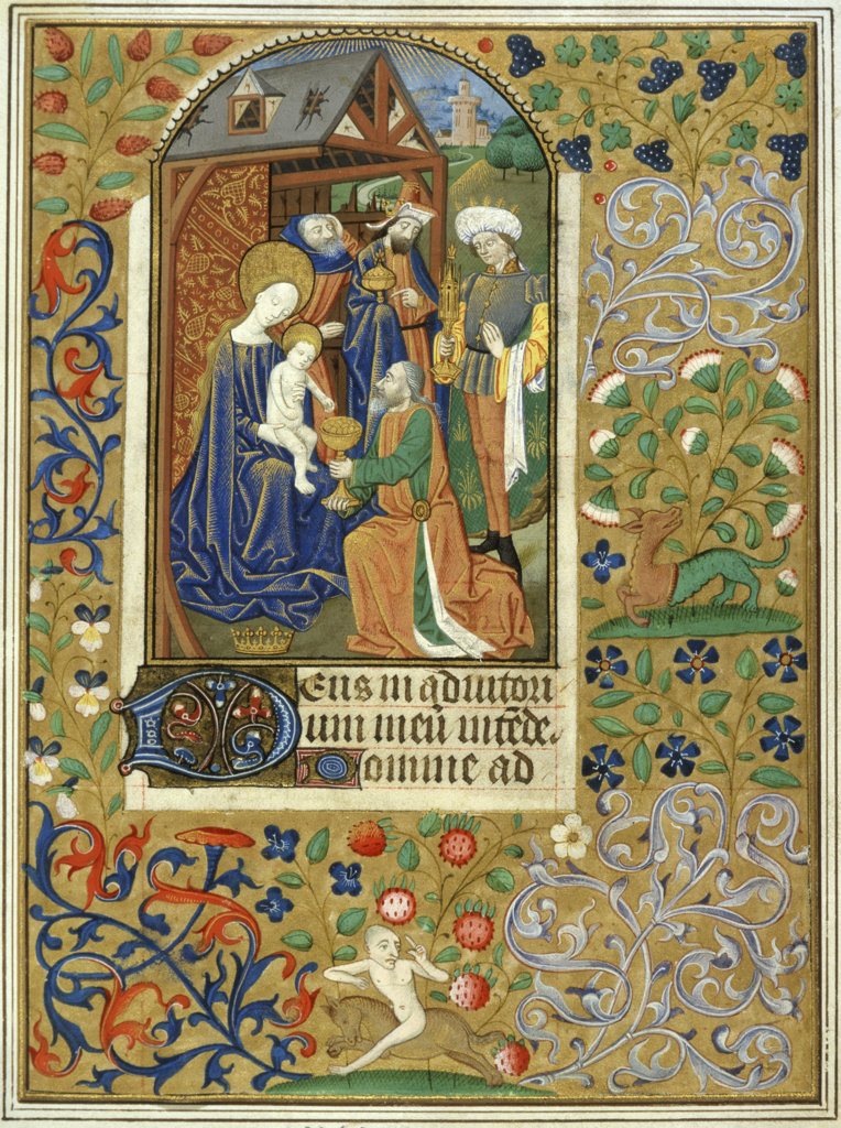 Stock Photo: 1095-103 Adoration of the Magi 