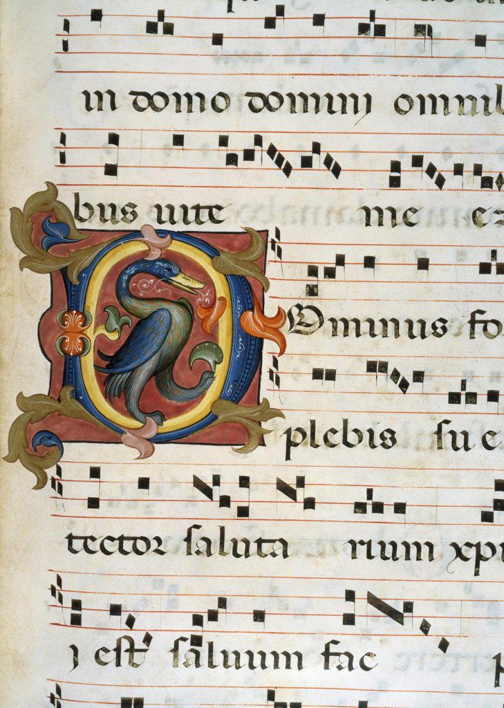 Gradual  Artist Unknown Manuscript Newberry Library, Chicago, Illinois, USA  : Stock Photo