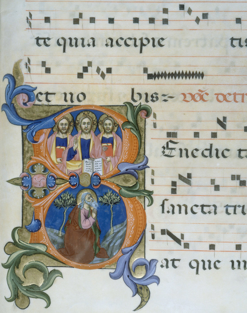 Stock Photo: 1095-130 Gradual Illumination - God the Father, Son, and Holy Spirit