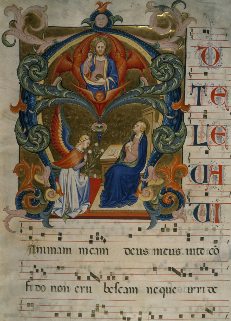 Gradual Illumination - Annunciation 