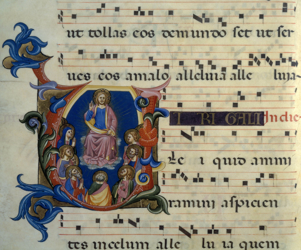 Stock Photo: 1095-162 Gradual Illumination - Christ 