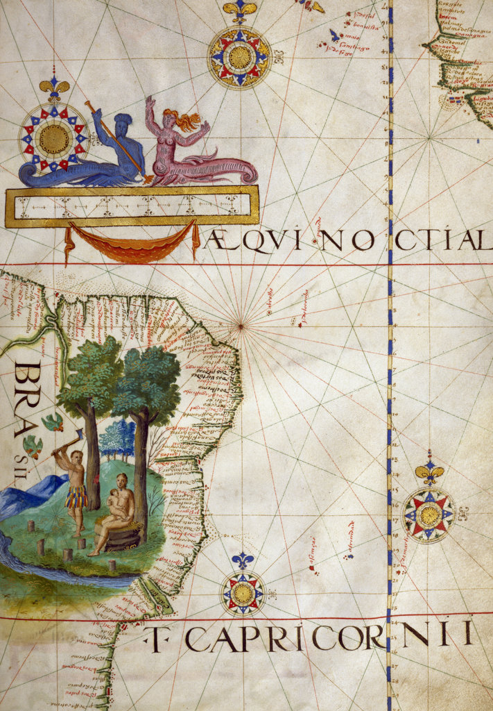 Stock Photo: 1095-170 Brazil and the Tropic of Capricorn