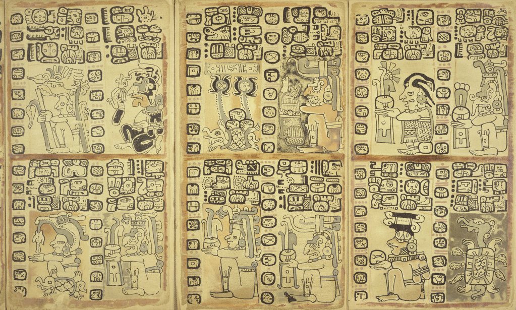 Stock Photo: 1095-210 Codex Cortesiano