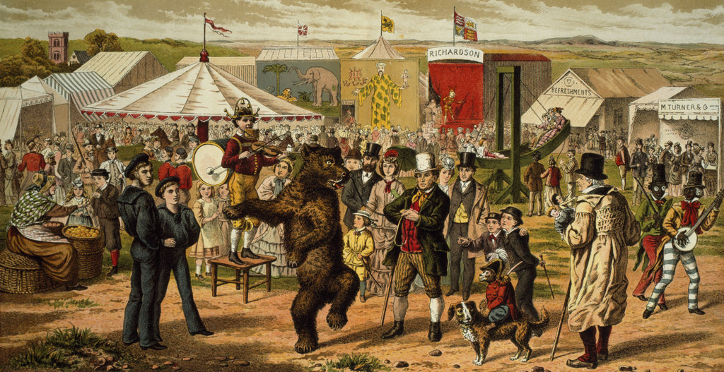 Bruin and the Bear from Aunt Louisas Holiday Guests