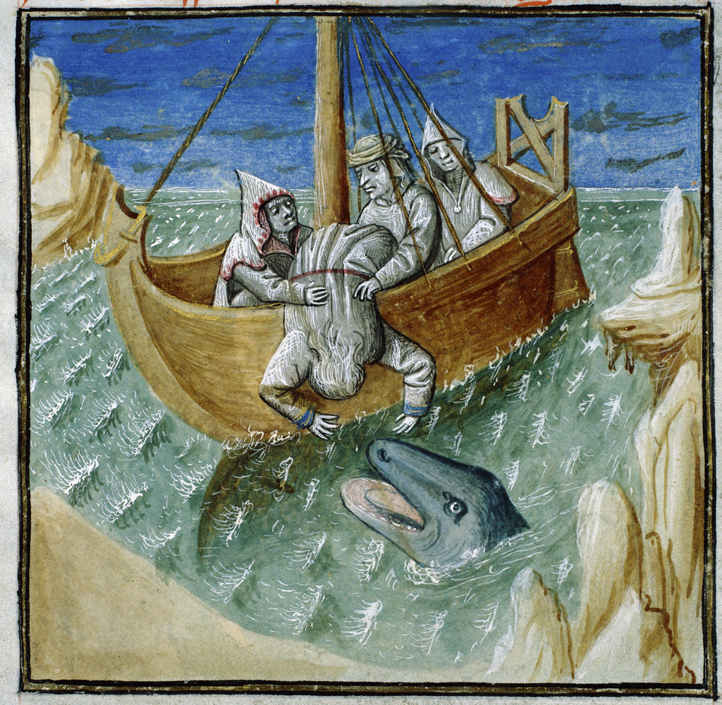 Stock Photo: 1095-293 Jonah and the Whale 