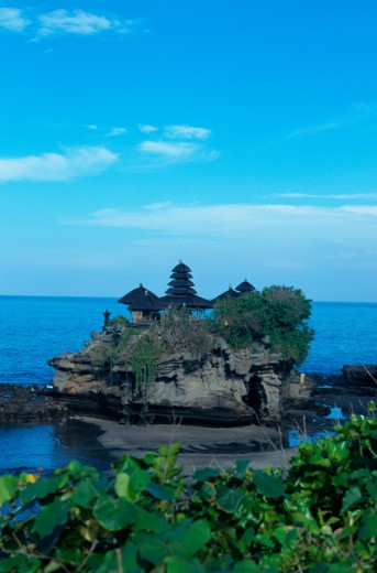Tanah Lot Temple, Bali, Indonesia : Stock Photo