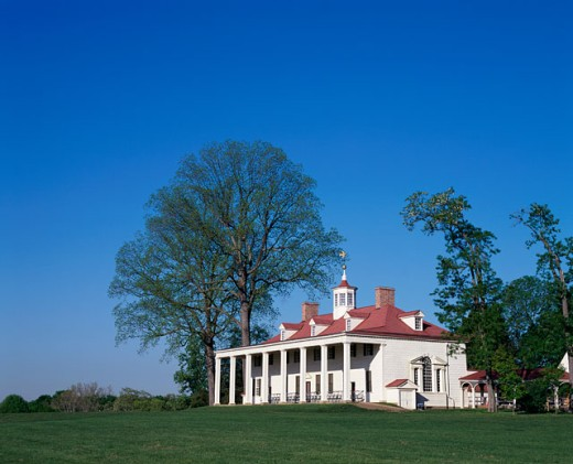 Stock Photo: 1096-2112A Mount Vernon, Home of George Washington, Virginia, USA
