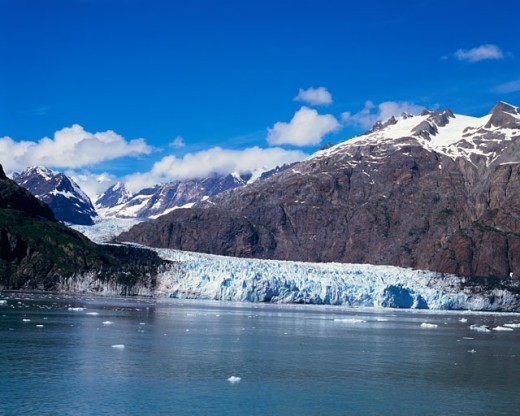 Glaciers at Glacier Bay National Park and Preserve, Alaska, USA : Stock Photo