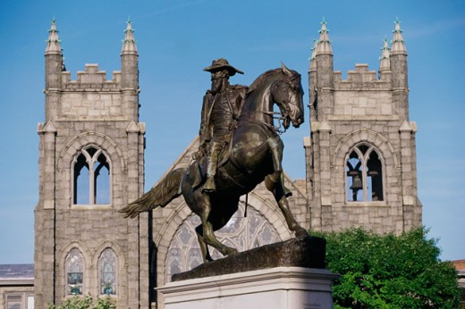 Stock Photo: 1096-2467 Statue of a soldier on a horse, Charleston, South Carolina, USA