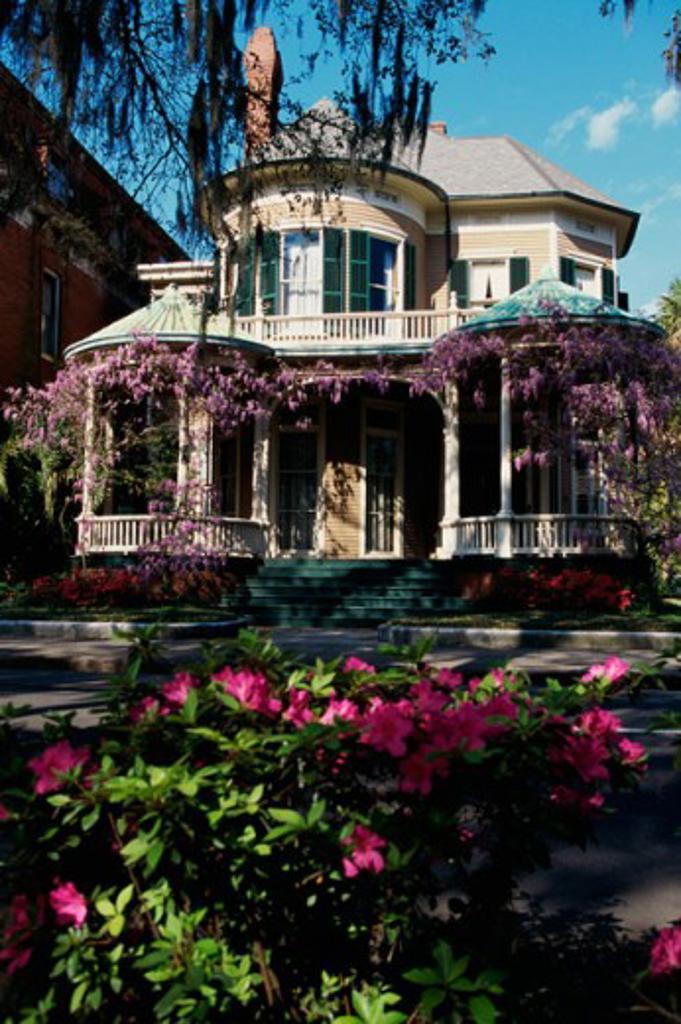 Stock Photo: 1096-2567 Savannah Georgia USA