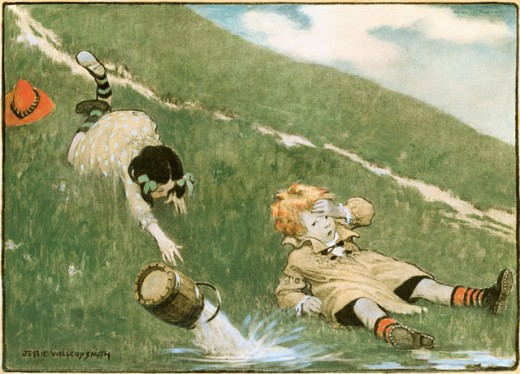 Stock Photo: 1100-150 Jack And Jill 
