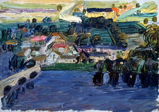 Stock Photo: 1100-210 Kallmunz, Blick Auf Die Stadt 1903