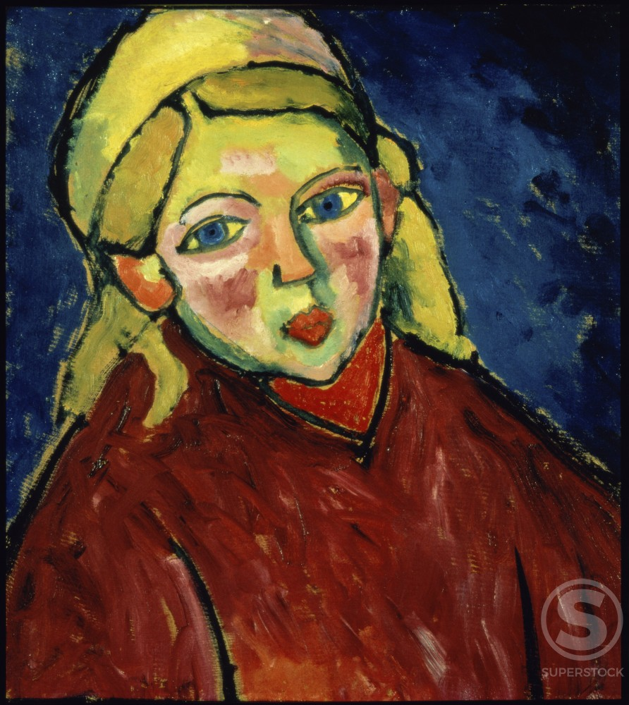 Stock Photo: 1100-296 Child With Blue Eyes