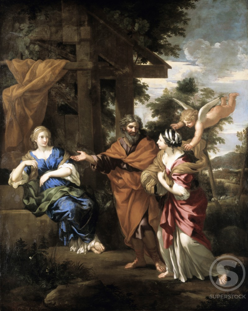 Stock Photo: 1100-333 Abraham, Sarah and Hagar 