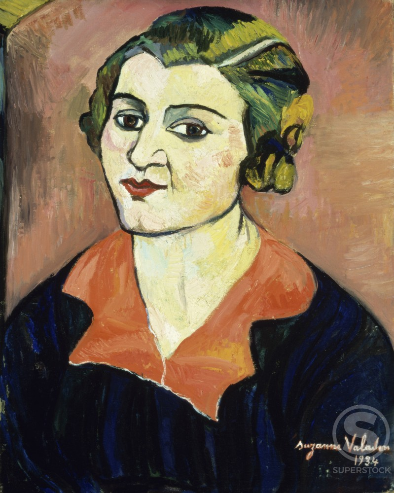 Stock Photo: 1100-372 Self-Portrait 