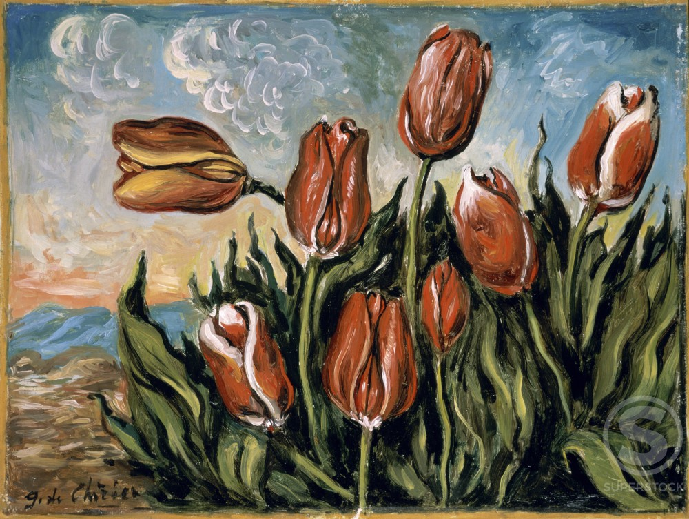 Stock Photo: 1100-395 Tulips 
