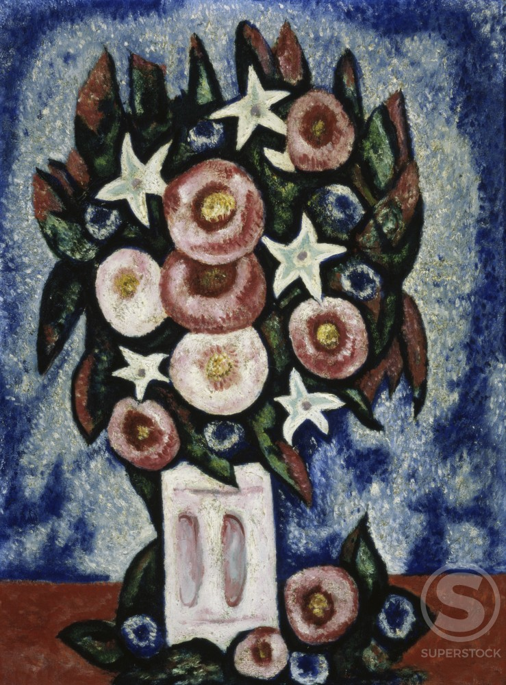 Stock Photo: 1100-521 Night and Some Flowers 