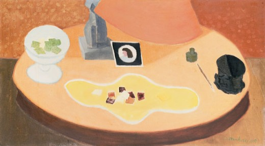 Stock Photo: 1100-534 Table With Objects