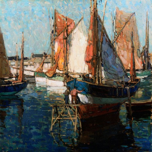 Stock Photo: 1100-575 Harbor Scene 