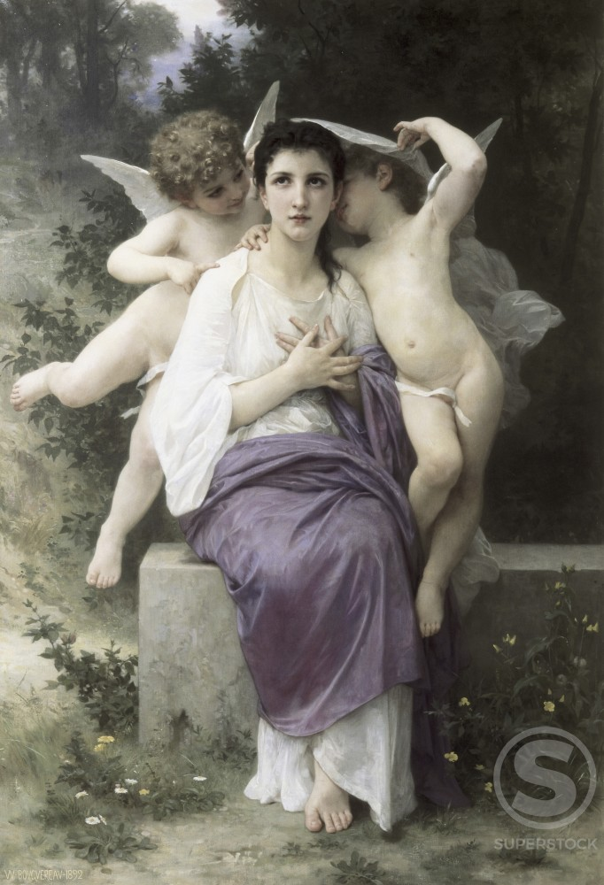 Stock Photo: 1100-602 The Heart's Awakening