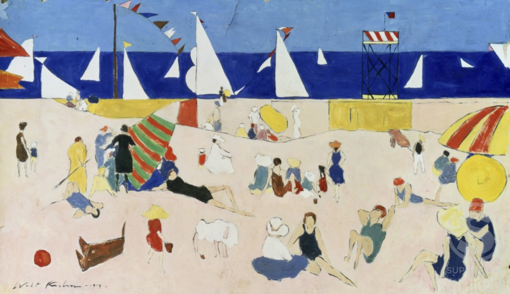 Stock Photo: 1100-628 At the Beach