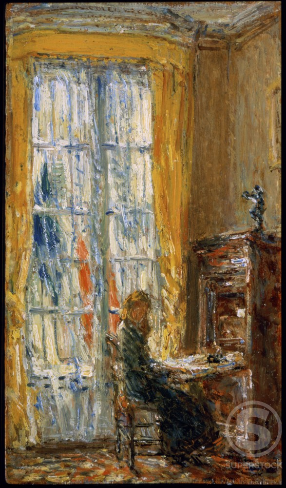 At the Writing Desk 