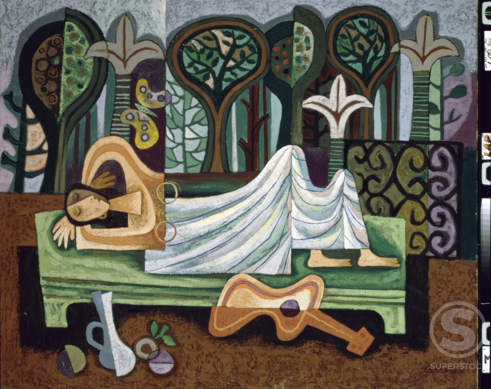 Stock Photo: 1100-726 La Siesta 