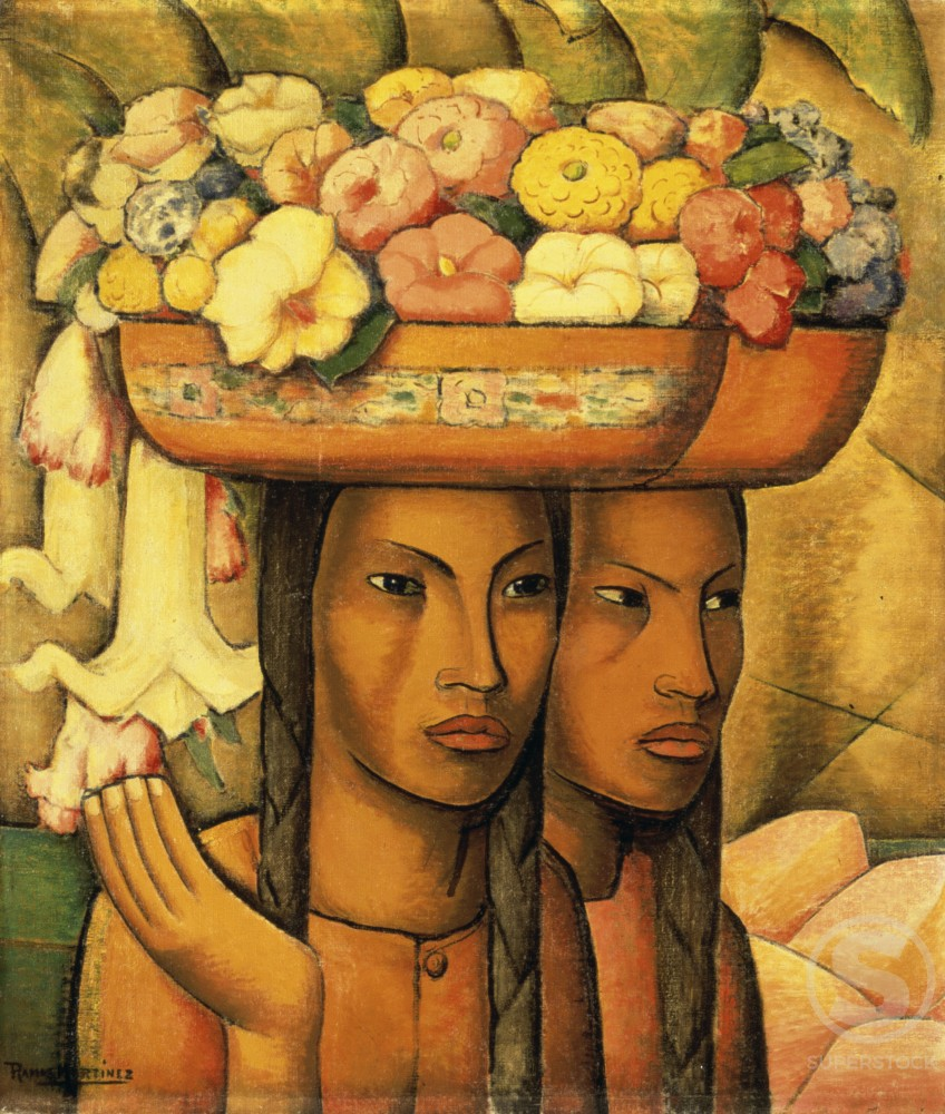 Stock Photo: 1100-749 Flower Sellers 
