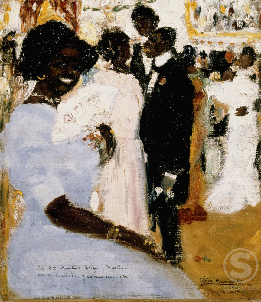 Stock Photo: 1100-750 Baile de Negros 