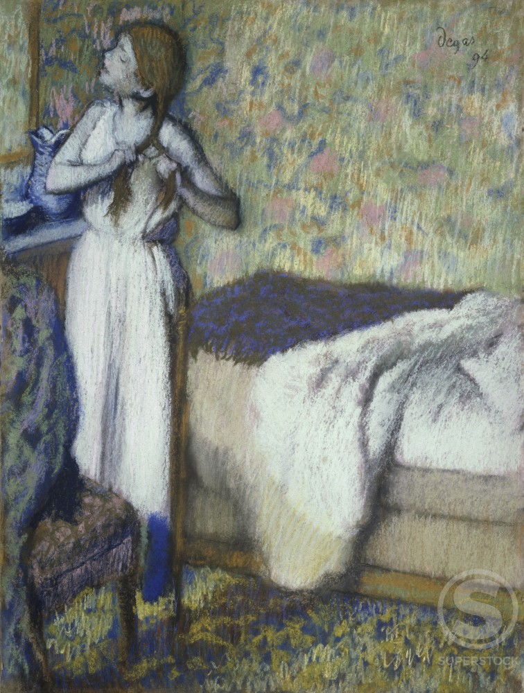 Stock Photo: 1100-764 Morning Toilette