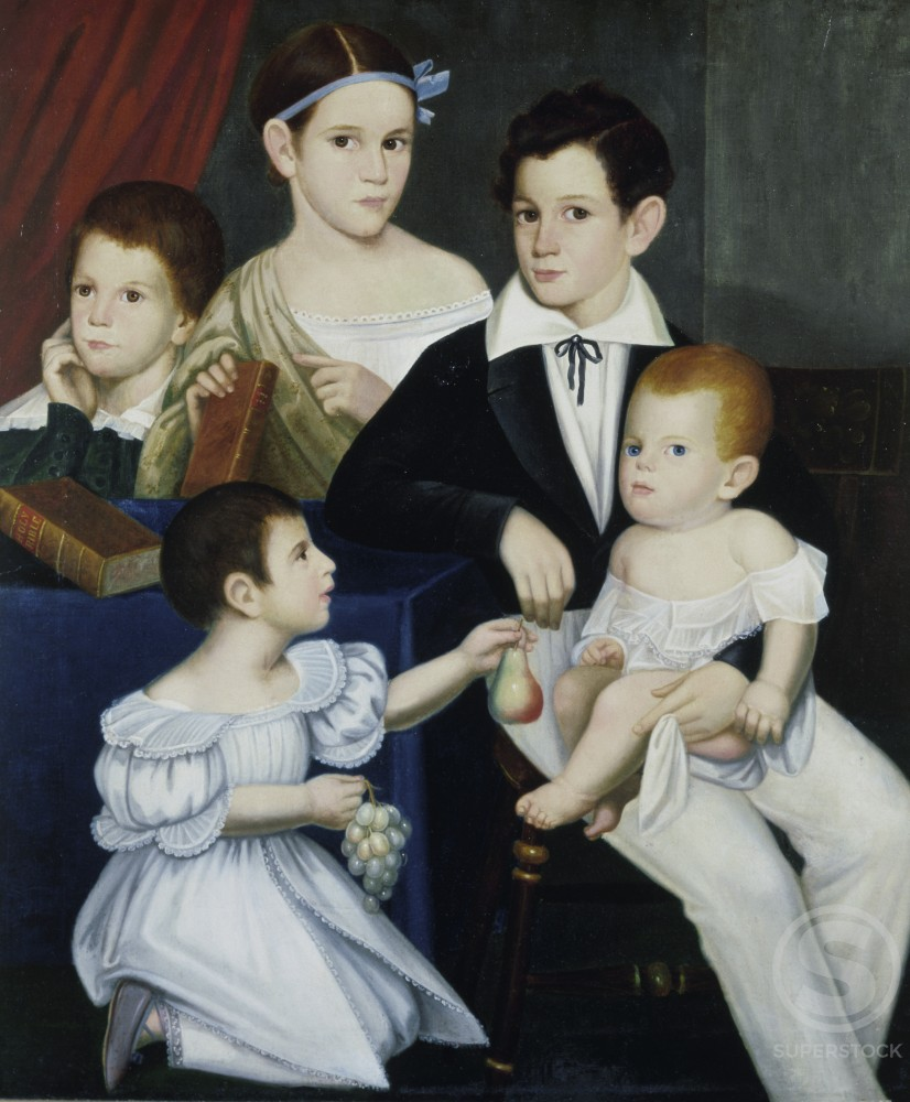Children of Sr. Elias Ogden, Natchez, Mississippi 