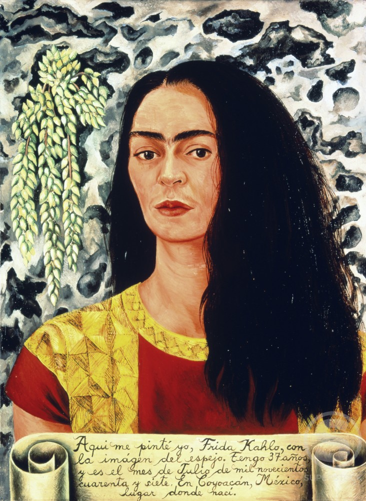 Self-Portrait with Loose Hair 