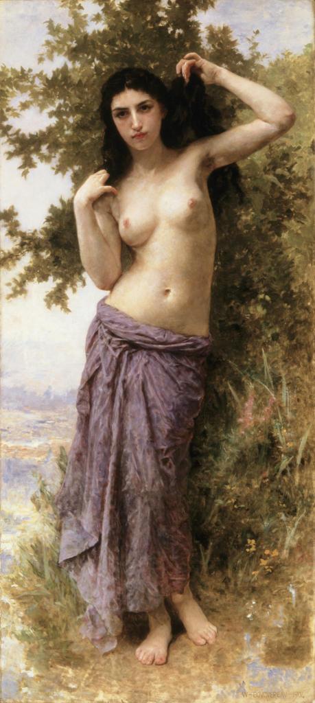 Stock Photo: 1100-830 Beaute Romane  1904   William-Adolphe Bouguereau (1825-1905/French) Oil on canvas