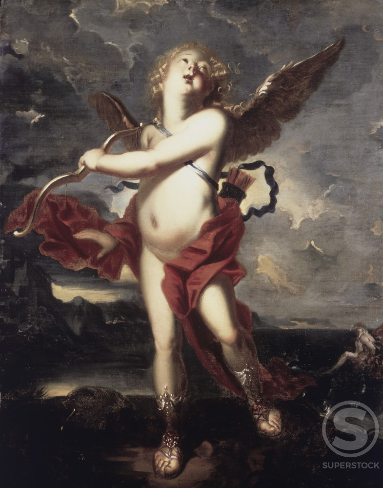 Stock Photo: 1100-835 Cupid 