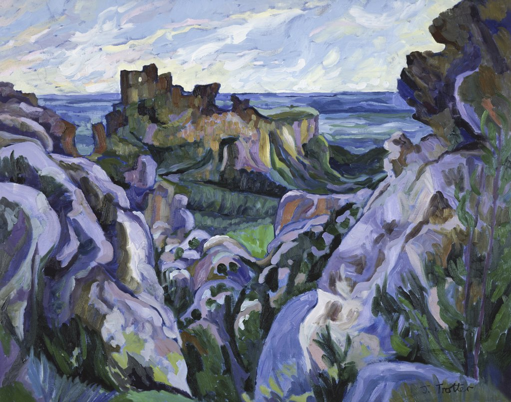 Stock Photo: 1101-517 Les Baux, Provence