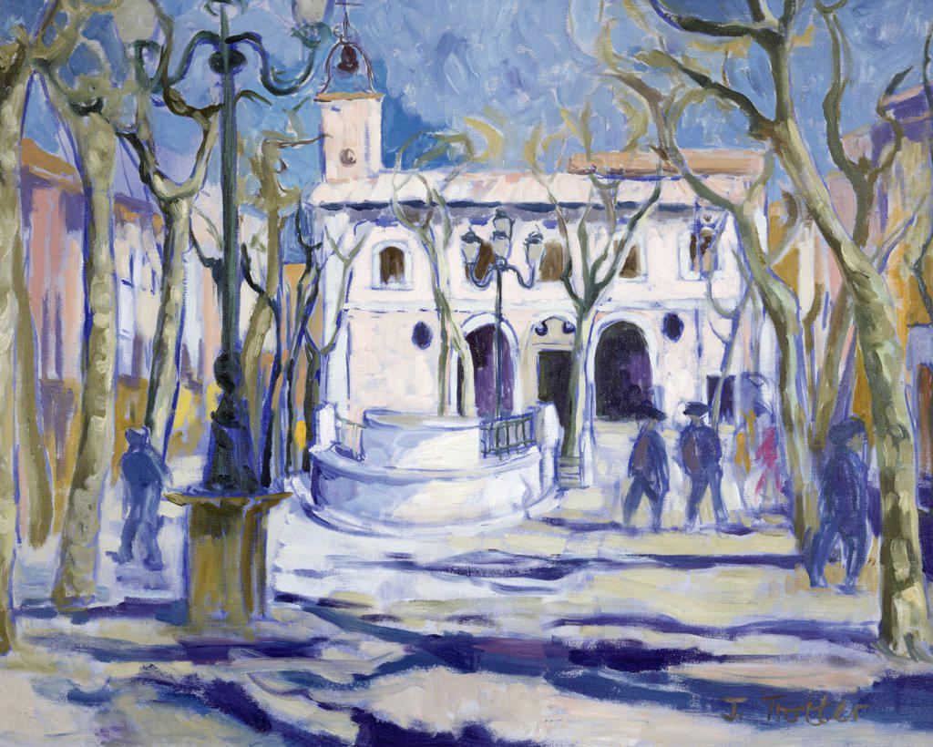 Stock Photo: 1101-519 La Puebla Majorca  by Josephine Trotter,  born in 1940