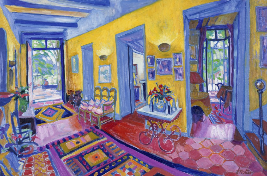 Stock Photo: 1101-537 French Interior