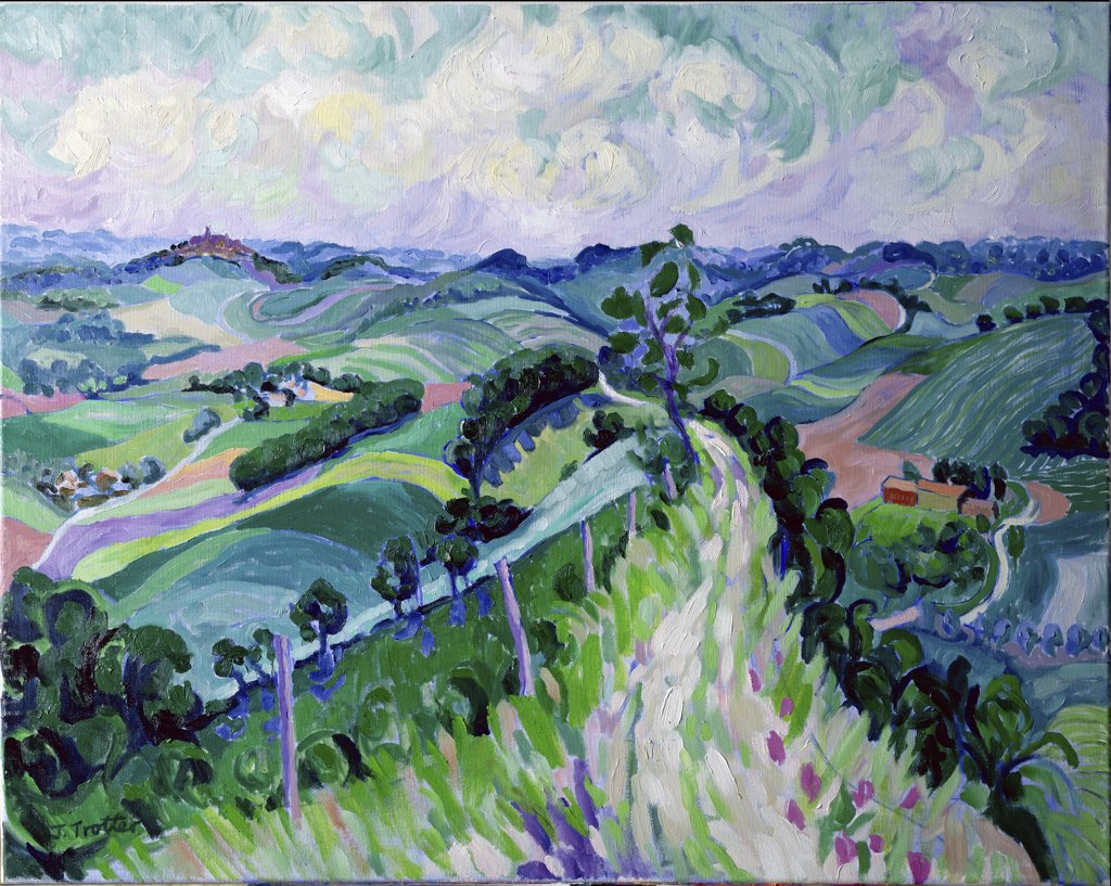 Stock Photo: 1101-558 The Roman Road, Lavaur