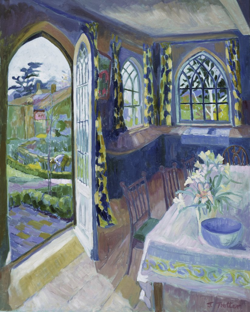 Interior with Garden