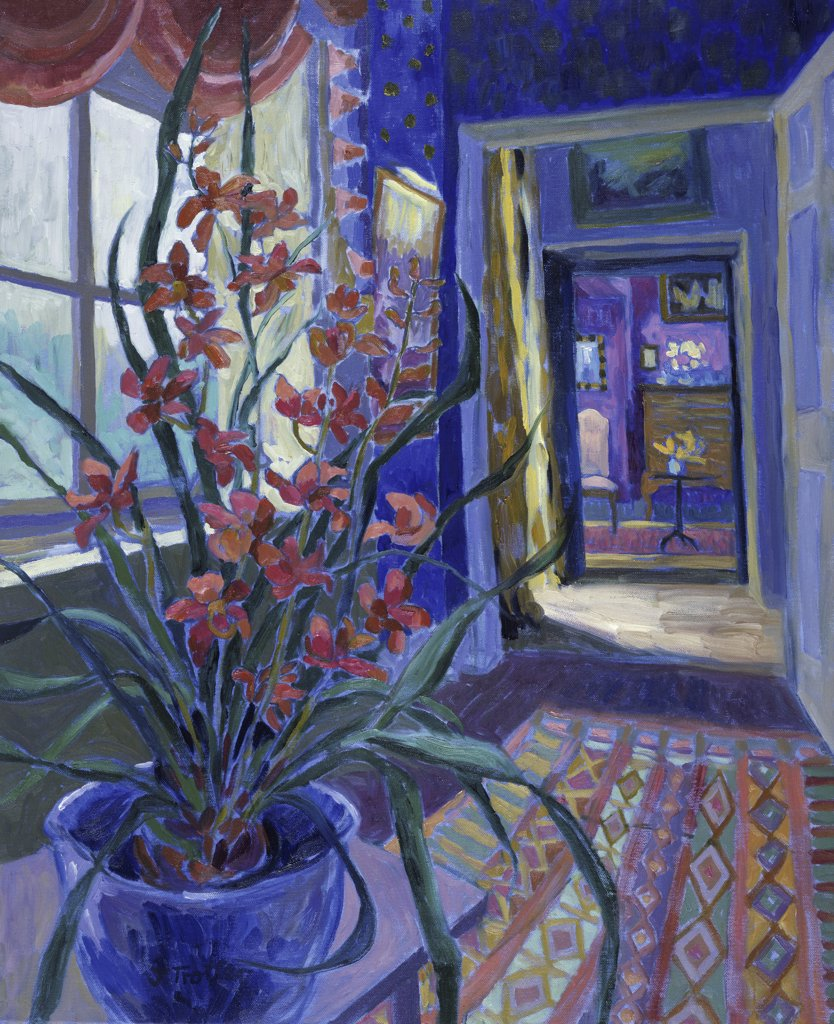 Stock Photo: 1101-567 The Red Orchid