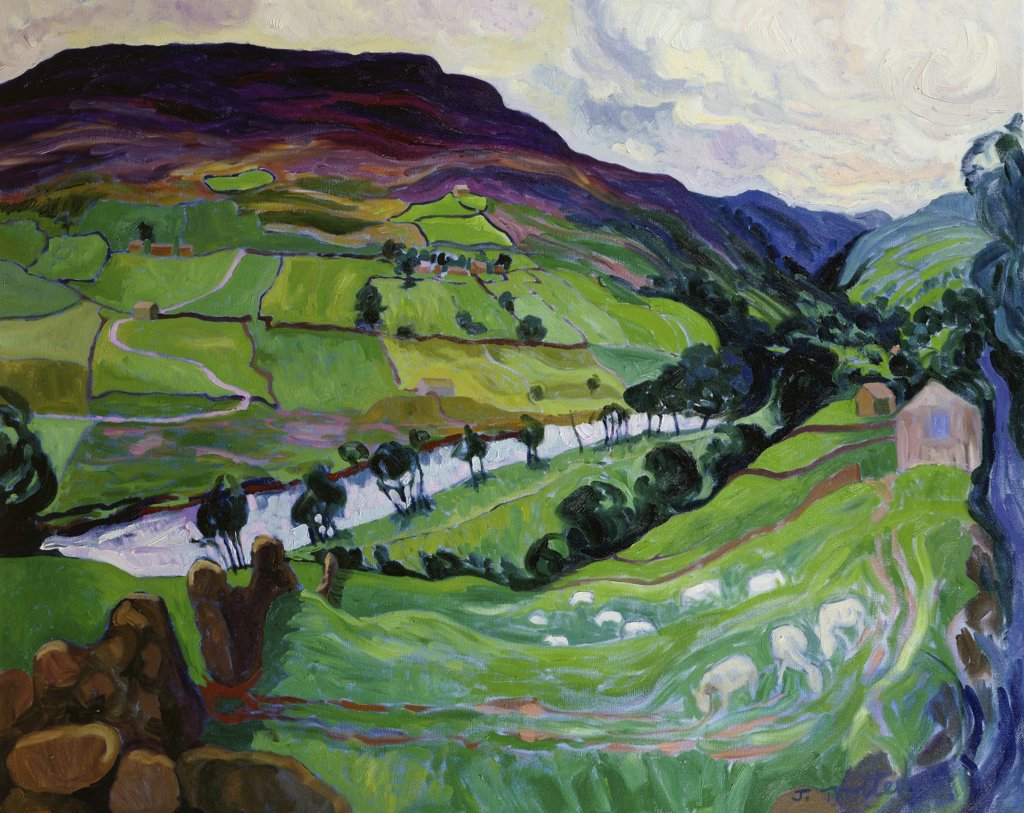 Stock Photo: 1101-572 Swaledale, Yorkshire