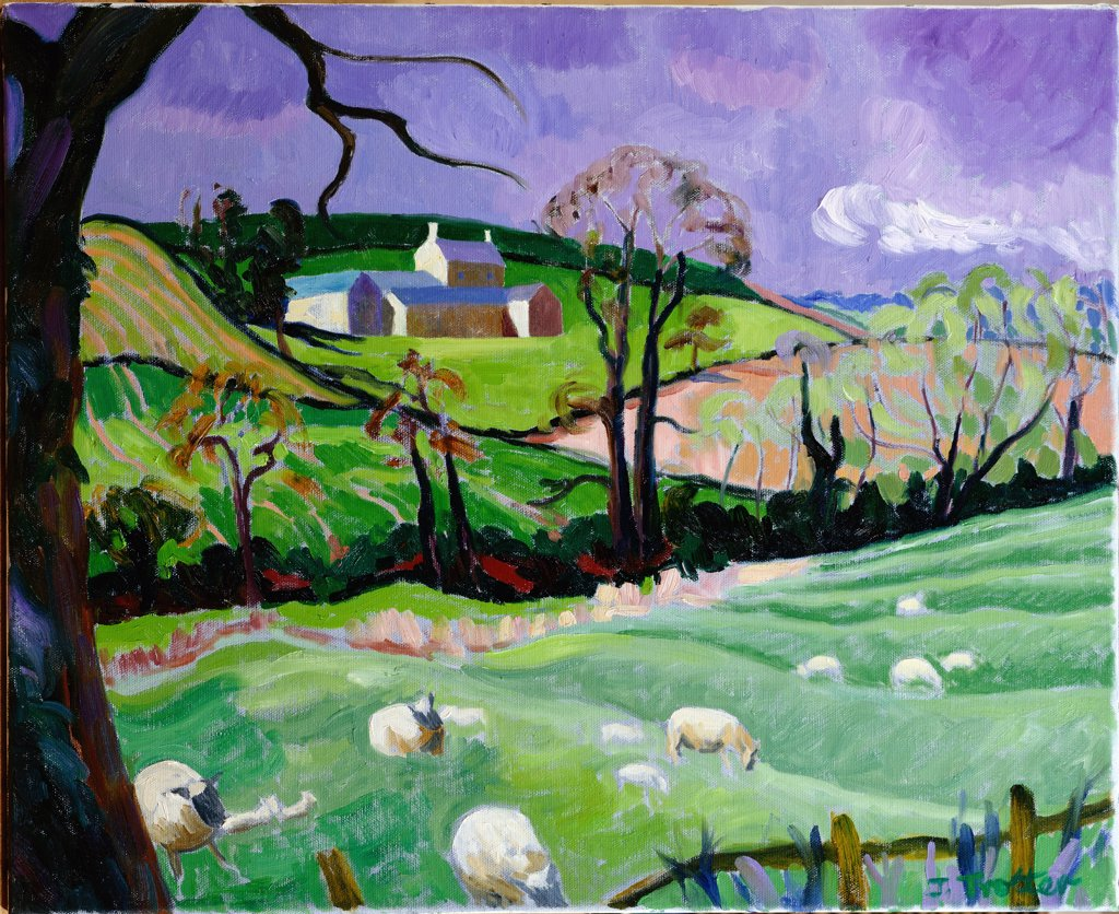 Stock Photo: 1101-583 Brailes Hill 