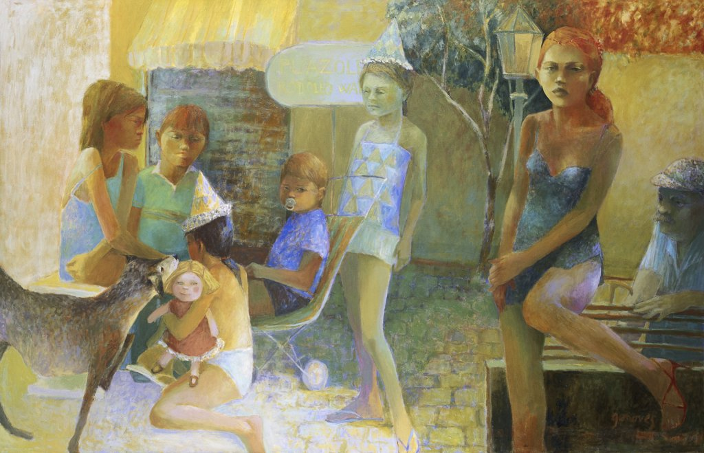 Stock Photo: 1109-1044 Plazoleta Rodolfo Walsh