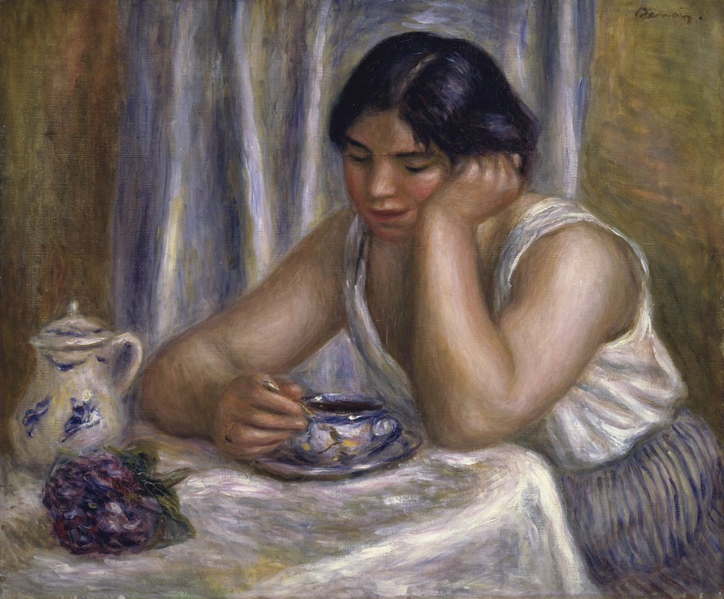Stock Photo: 1114-1047 A Cup of Chocolate
