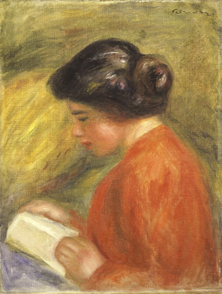 Girl Reading 