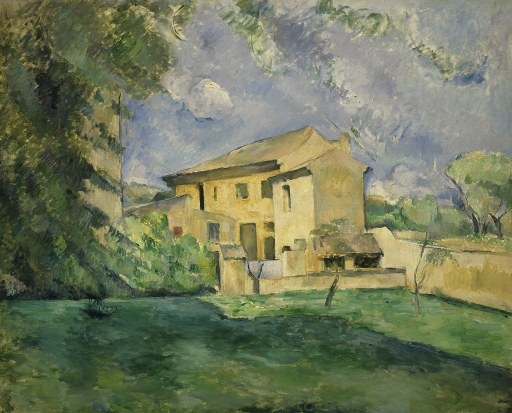Stock Photo: 1114-1078 Farm of Jas de Bouffan