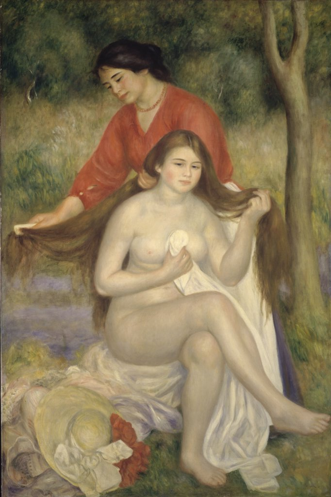 Bather & Maid