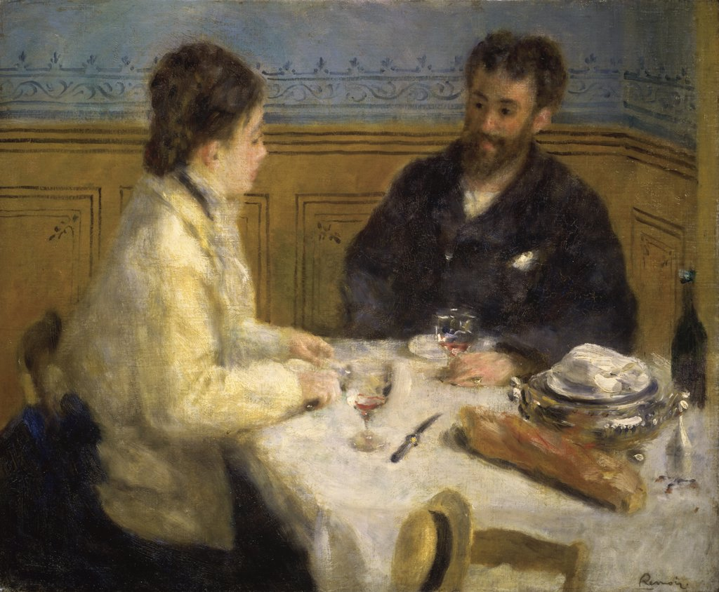 Stock Photo: 1114-1168 The Luncheon 